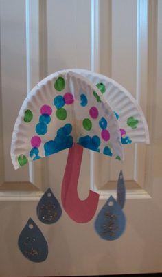 3-D Umbrella Craft / Ramblings of a Crazy Woman