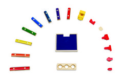Hape - Quadrilla - Music Mixer Wooden Marble Run Add-On -- See this awesome image @ Toys For Little Kids, Toys For Boys, Kids Toys, Building Blocks Toys, Building For Kids, Learning Through Play, Kids Learning, Wooden Marble Run, Marble Runs