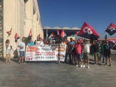 """Más de 80 días de huelga indefinida en Easyjet Málaga por """"despido injustificado de tres trabajadores"""""""