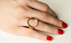 I must own this ring someday. I'm manifesting it right now. It can be worn four ways, for crying out loud.
