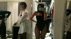 Sahar Luna and Kelsey Calemine
