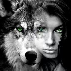 fishnet100 — a-garota-de-capa-vermelha:   Woman Wolf