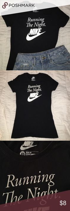 Slim Fit Nike Running Tee XS Slim Fit Style. No rips, stains, or holes. Black is slightly faded from washing. Colors are true in the third picture (first two were taken with flash). Nike Tops Tees - Short Sleeve