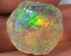 opals Ethiopian | 41.31ct~super rare ethiopian welo opal rough~museum