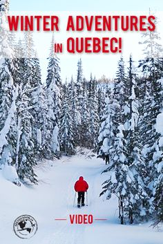 VIDEO! Showcasing some of the best winter activities to do in Saguenay-Lac-Saint-Jean in Quebec!
