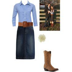 Jill Duggar Engagement outfit