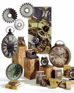 Creation Vetrina: Idea Vetrina Time is Life