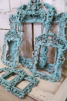 Large ornate frame grouping baroque style by AnitaSperoDesign, $585.00