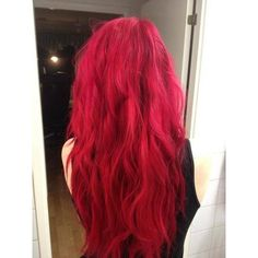 Red hair ❤ liked on Polyvore featuring hair, hairstyles, people, hair styles and cabelos