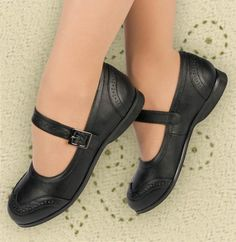 - These are adorable Wingtip Mary Janes and have a very low heel and suede-bottom sole. - Mary Janes are great dance shoes as they have a strap that allows you to control the fit at your instep. - The