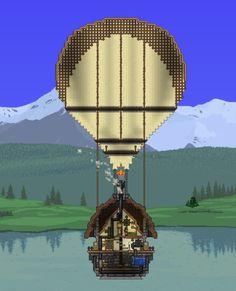 Steampunker's Hot-air Balloon