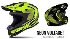 509 Altitude Helmet Neon Voltage Matte