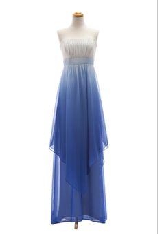 Blue Ombre Wedding Dress | Ombre Dress?