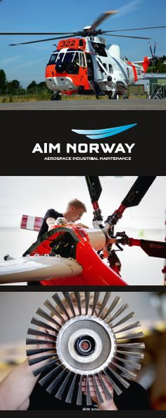 Sea King Roll up for AIM Norway