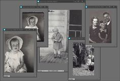 Speed Scanning Tutorial ~ the lazy way to scan those old photos faster! More helpful ideas in comments. Photo Scan, Heritage Scrapbooking, Digital Scrapbooking, Photo Restoration, Photo Storage, Family Genealogy, Photoshop Elements, Photoshop Ideas, Photo Projects
