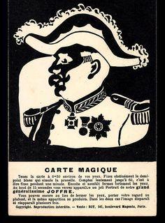 CARTE MAGIQUE, General Joffre