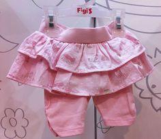 Faldita dos tiempos mini con pantalón...MODA INFANTIL | Figi's