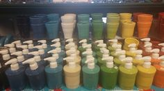Fiesta® Bathroom Accessories ~ Toothbrush Holders and Soap/Lotion Dispensers at Pryde's Old Westport, Kansas City