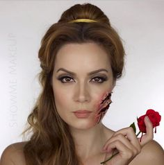 This Disney princess series uses gory makeup to give these maidens a verydifferent fate.