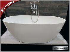 Cada de baie ovala Terrano 160 cm din compozit marmura French Bathroom, Bathtub, Faucet, Standing Bath, Bathtubs, Bath Tube, Bath Tub, Tub, Bath