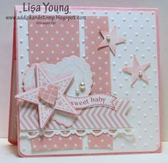 Baby Girl Card CCMC277 by genesis - Cards and Paper Crafts at Splitcoaststampers