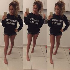 #WomenCrushWednesday she looks absolutely flawless I love her hair and the shirt {#charlottecrosby #charlottegshore #geordieshore #inthestyle #fashion #style #wcw #likeforlike #beautiful #gorgeous}