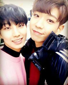 BOYS24 Official Instagram Update #BOYS24 #chani #minhwan #unitgreen #kpop #idol #소년24 #찬이 #민환 #유닛그린 #친구
