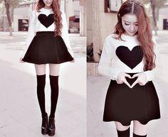 Korean fashion, korean girl