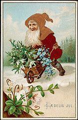 Gldelig Jul, 1885 (National Library of Norway) Tags: christmas christmascards jul julekort postkort nisser nasjonalbiblioteket nationallibraryofnorway overrekkelseskort