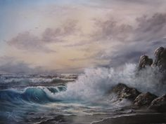 """Morning Wave"" by Kevin Hill paintwithkevin.com"
