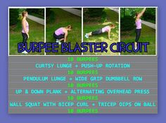 Good home circuit workout