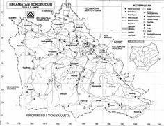 Borobudur villages Map
