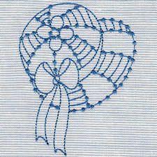 BLUEBONNETS - Gratis Instant máquina del bordado Diseños