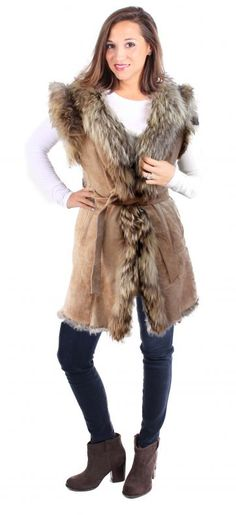 NEW Nicole Miller Ladies/' Reversible Vest Faux Fur Interior Warm VARIED