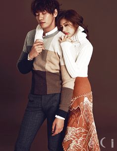 Kim Young Kwang and Jung So Min - Ceci Magazine September Issue Couple Photoshoot Poses, Couple Photography Poses, Couple Portraits, Couple Posing, Couple Shoot, Jung So Min, Asian Actors, Korean Actors, Korean Magazine