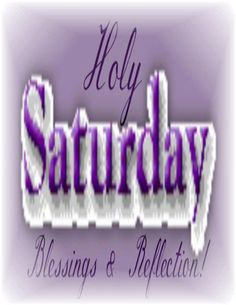 Waiting for the resurrection and the end of lent. Have a wonderful day. from MamaCat Jesus Is Risen, He Is Risen, End Of Lent, Holy Saturday, My Redeemer Lives, Holy Week, Christian Inspiration, Morning Quotes, Holidays And Events