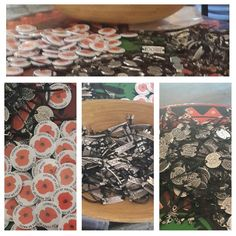 100.years ofanzak the special day designed the interior is very special wristbands and badges on sale.