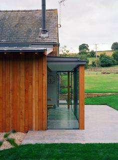 Random Oak Cladding to Listed Cotswold Barn Oak Cladding, Sutton Coldfield, West Midlands, Garage Doors, Barn, Random, Outdoor Decor, Design, Home Decor