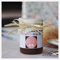 [H&N] Cadeaux d'invités: petit pot de confiture Made In Bearn.