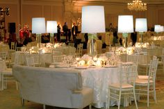 Design by Wildflowers Reception in the Ballroom of the Ritz-Carlton Hotel Saint Louis, MO