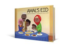 Picture book. Amal's Eid by Amy Maranville, illustrated by Josh Stevens