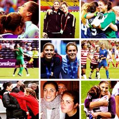 (this is my edit - solohope.tumblr.com) hope solo | kelley o'hara