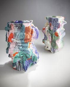 Thaddeus Wolfe glass vases | sightunseen.com