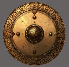 Varangian Guard shield (northmen who fought in the crusades) usually through the river Volga .