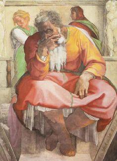 Michelangelo Buonarroti 027 - Gallery of Sistine Chapel ceiling - Wikipedia, the free encyclopedia