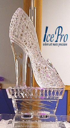 Glass Slipper...ice...extraordinary                                                                                                                                                                                 More