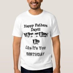 Father's Day Turn Up T-Shirt (Buy Now)