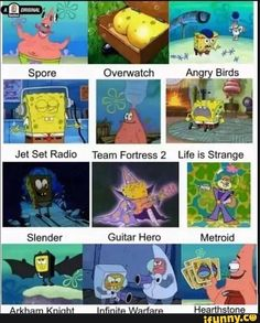 cod, overwatch, tf2, spooky, true