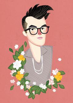 La importancia de llamarse Morrissey. by Pixelbox , via Behance