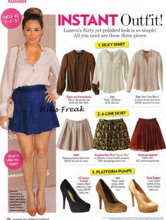 fall skirt outfits | Illuminated in Pink: Look I'm Coveting for Fall
